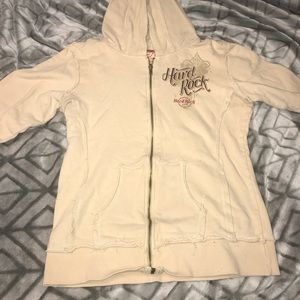 Jackets & Blazers - Hard Rock Cafe hooded jacket
